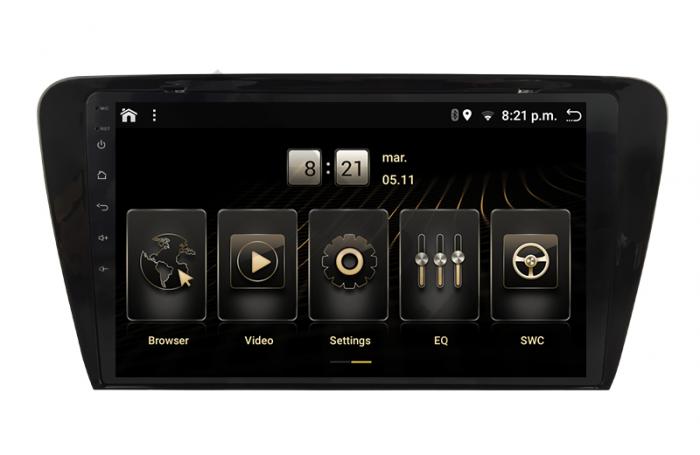 Navigatie Android 10 Skoda Octavia 3 PX6   AutoDrop.ro [3]
