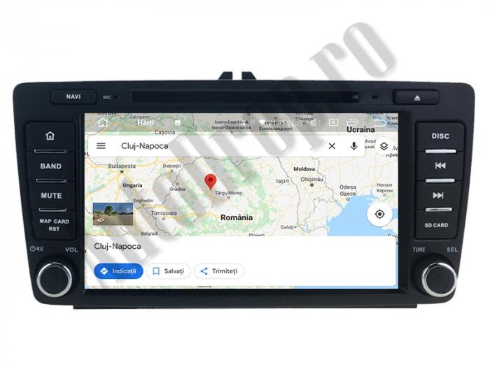 Navigatie Auto Dedicata Skoda Android | AutoDrop.ro 11