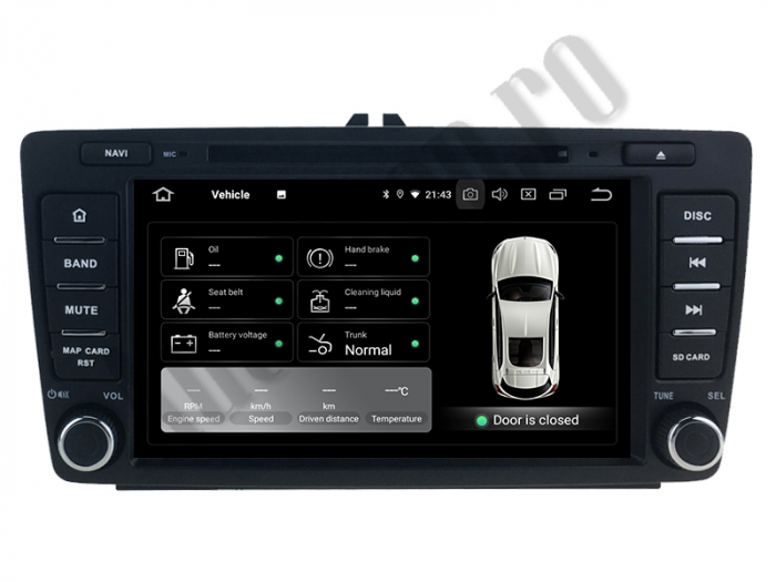 Navigatie Auto Dedicata Skoda Android | AutoDrop.ro 3