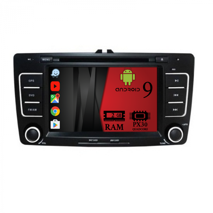 Navigatie Auto pentru Skoda cu Android - Autodrop.ro 0