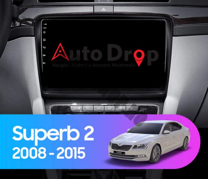 Navigatie Android 10 Skoda Superb 2 PX6 | AutoDrop.ro [18]