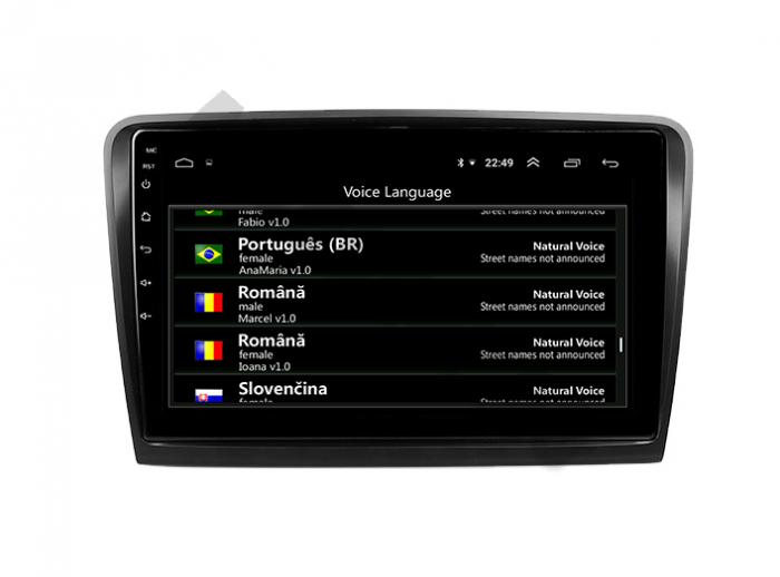 Navigatie Android 10 Skoda Superb 2 PX6 | AutoDrop.ro [7]