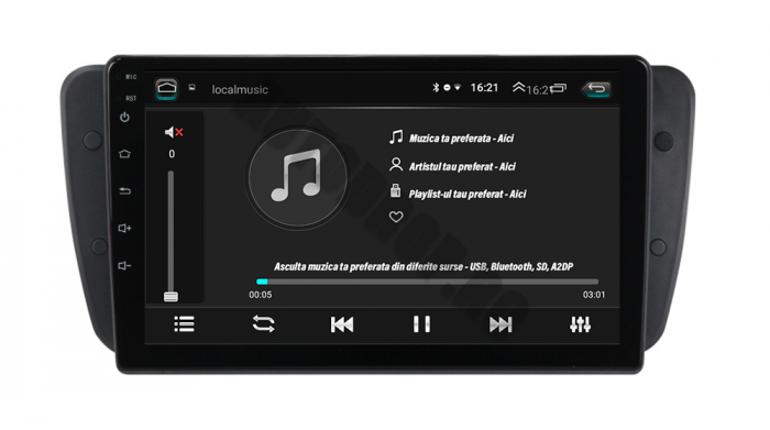 Navigatie Seat Ibiza 2009-2013 Android | AutoDrop.ro 5