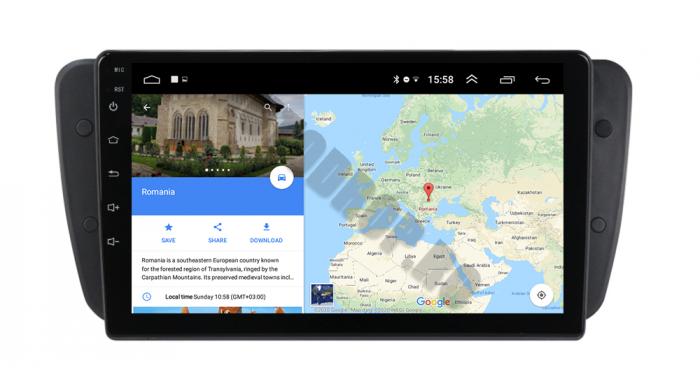 Navigatie Seat Ibiza 2009-2013 Android | AutoDrop.ro 16