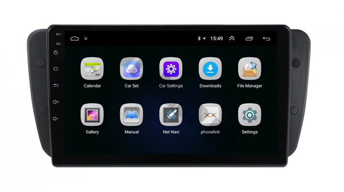 Navigatie Seat Ibiza 2009-2013 Android | AutoDrop.ro 3