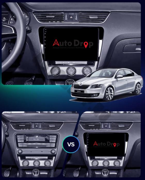 Navigatie Skoda Octavia 3 Android PRO | AutoDrop.ro 22