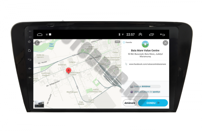 Navigatie Skoda Octavia 3 Android   AutoDrop.ro 15