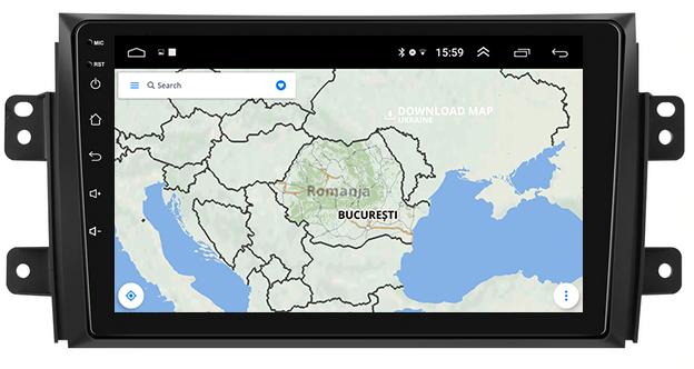 Navigatie Android Suzuki SX4 2GB | AutoDrop.ro 10