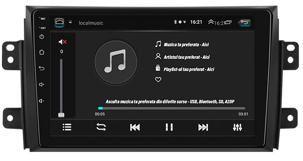 Navigatie Android Suzuki SX4 2GB | AutoDrop.ro 4
