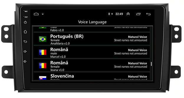 Navigatie Android Suzuki SX4 1GB | AutoDrop.ro [7]