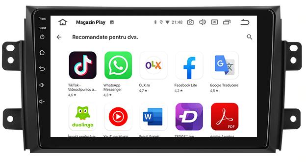 Navigatie Android Suzuki SX4 2GB | AutoDrop.ro 6