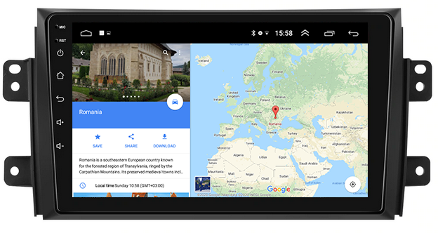 Navigatie Android Suzuki SX4 2GB | AutoDrop.ro 12
