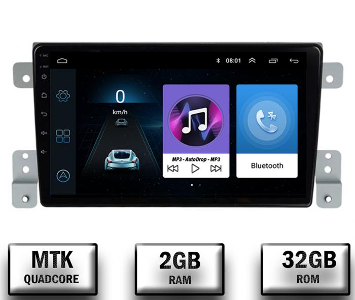 Navigatie Android 10 Suzuki Grand Vitara | AutoDrop.ro [0]