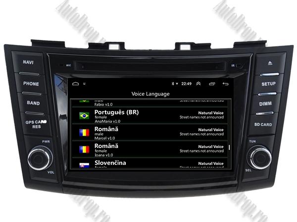 Navigatie Dedicata Suzuki Swift 2011+ | 4+64GB 10