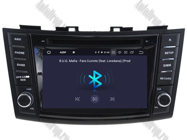 Navigatie Dedicata Suzuki Swift 2011+ | 4+64GB 5