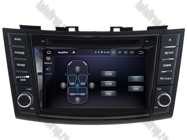 Navigatie Dedicata Suzuki Swift 2011+ | 4+64GB 7