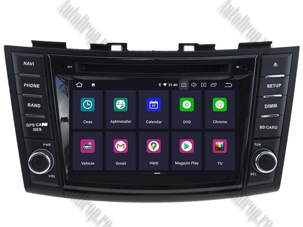 Navigatie Dedicata Suzuki Swift 2011+ | 4+64GB 1