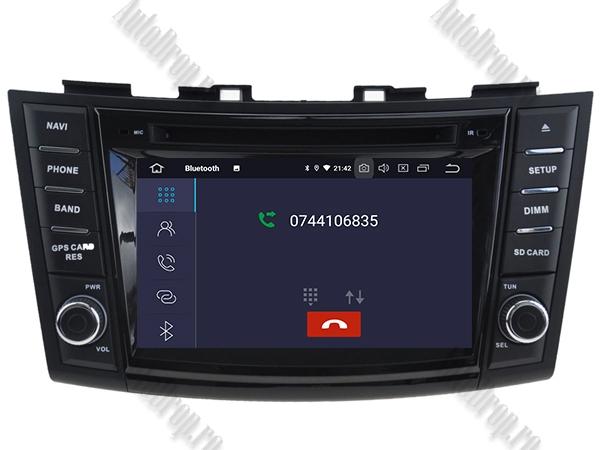 Navigatie Dedicata Suzuki Swift 2011+ | 4+64GB 4