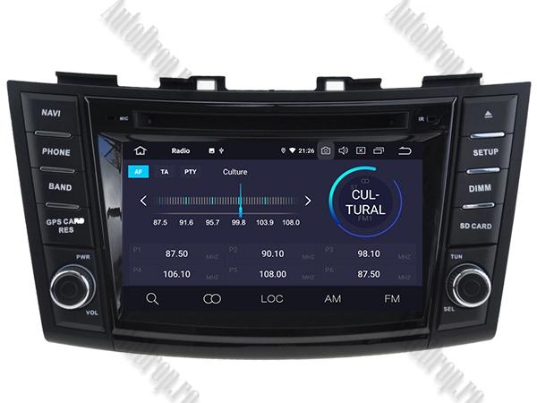 Navigatie Dedicata Suzuki Swift 2011+ | 4+64GB 3
