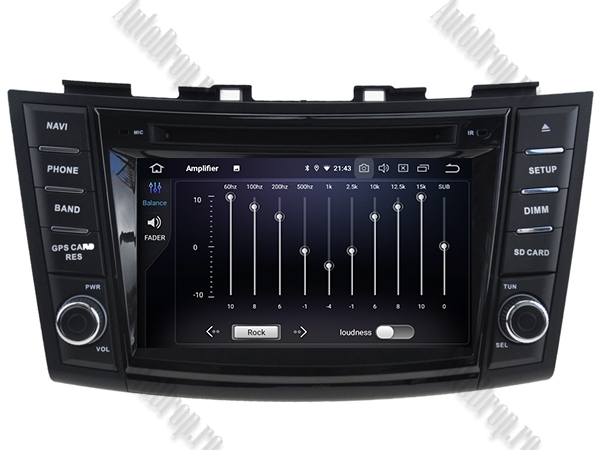 Navigatie Dedicata Suzuki Swift 2011+ | AutoDrop.ro 6
