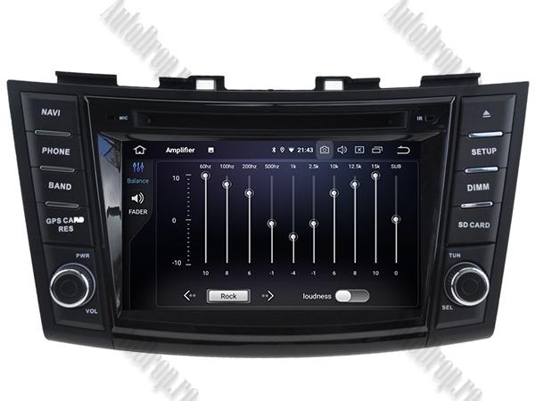Navigatie Dedicata Suzuki Swift 2011+ | 4+64GB 6