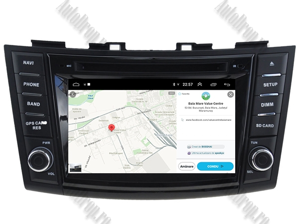 Navigatie Dedicata Suzuki Swift 2011+ | AutoDrop.ro 14