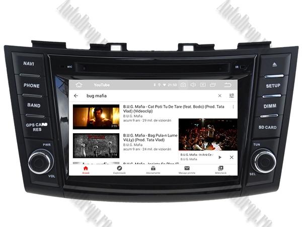 Navigatie Dedicata Suzuki Swift 2011+ | 4+64GB 9