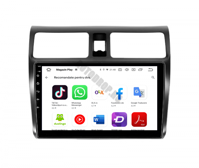 Navigatie Android Suzuki Swift | AutoDrop.ro [12]