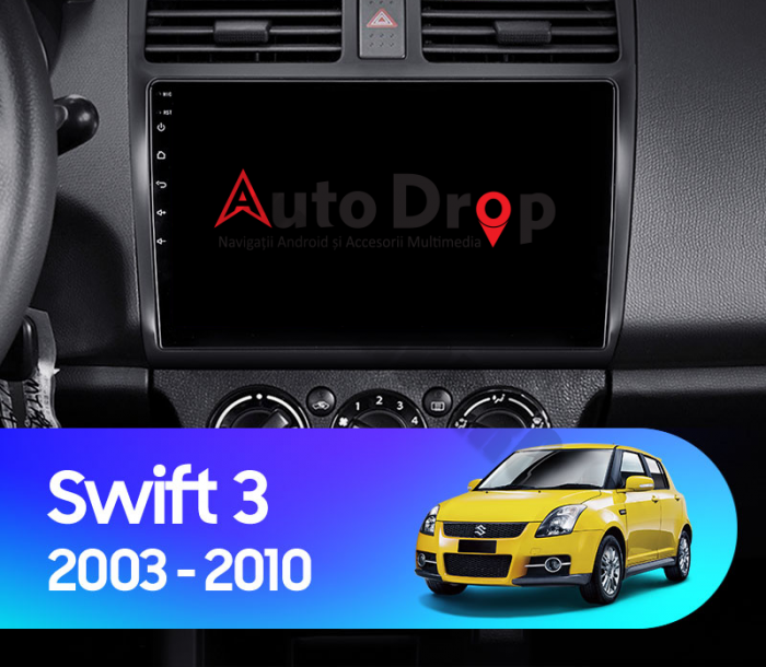 Navigatie Android Suzuki Swift 2GB   AutoDrop.ro [14]