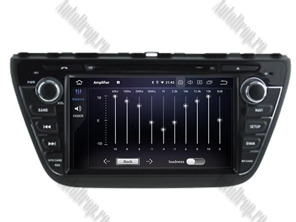 Navigatie Dedicata Suzuki S-Cross 2014| 4+64gb 6