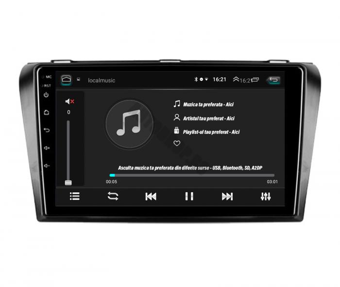 Navigatie Android Mazda 3 1+16GB | AutoDrop.ro [7]