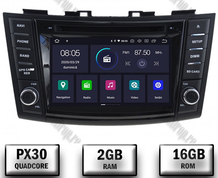 Navigatie Dedicata Suzuki Swift 2011+ | AutoDrop.ro 0