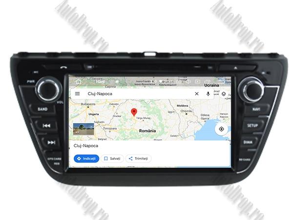 Navigatie Dedicata Suzuki S-Cross 2014  AutoDrop.ro 13