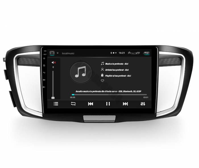 Navigatie Android Honda Accord 9 2013+ | AutoDrop.ro 4