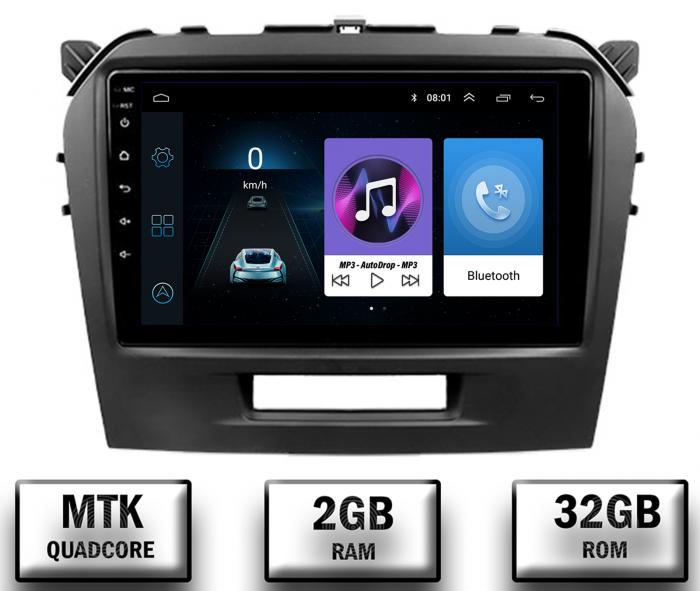 Navigatie Android Suzuki Vitara 2GB | AutoDrop.ro [0]