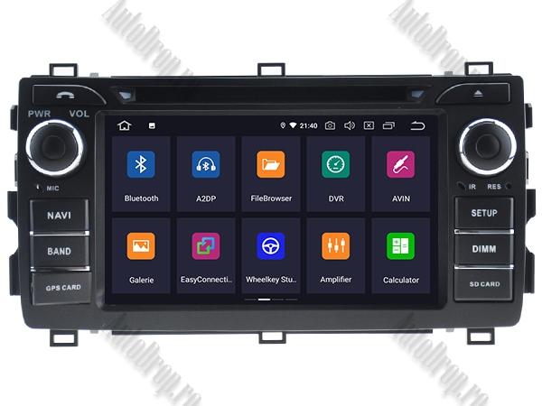 Navigatie Dedicata Toyota Auris 2013+ 4+64GB 1
