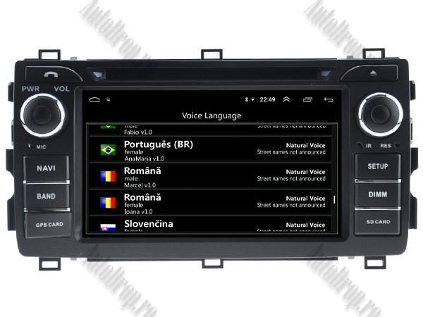 Navigatie Dedicata Toyota Auris 2013+ 4+64GB 6