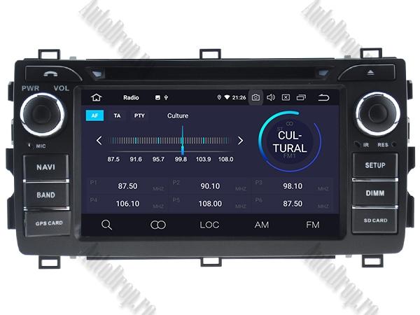Navigatie Dedicata Toyota Auris 2013+ 4+64GB 3
