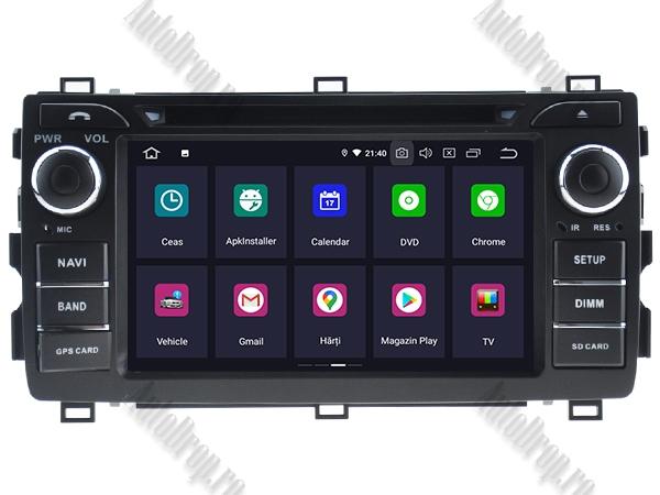 Navigatie Dedicata Toyota Auris 2013+ 4+64GB 2