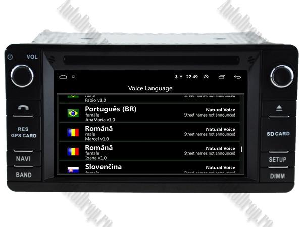 Navigatie Dedicata Mitsubishi Outlander, ASX, Lancer 2013+ 8