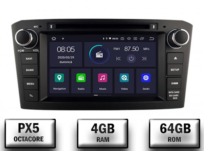 Navigatie Dedicata Toyota Avensis 4+64GB-B | AutoDrop.ro 0