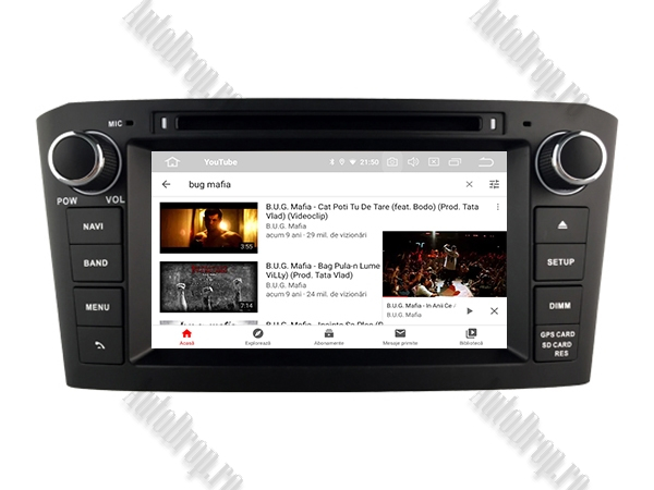 Navigatie Dedicata Toyota Avensis(2005-2008) cu Android [11]