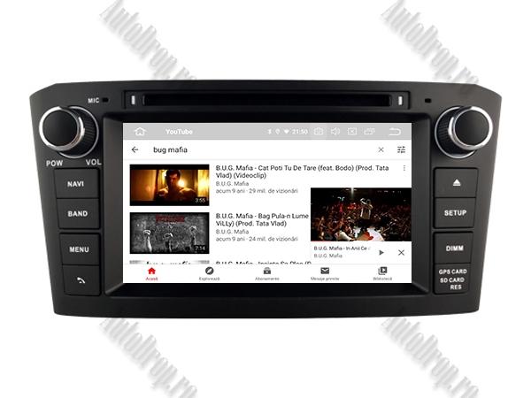 Navigatie Dedicata Toyota Avensis 4+64GB-B | AutoDrop.ro 12