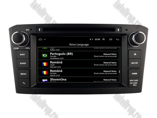 Navigatie Dedicata Toyota Avensis 4+64GB-B | AutoDrop.ro 9