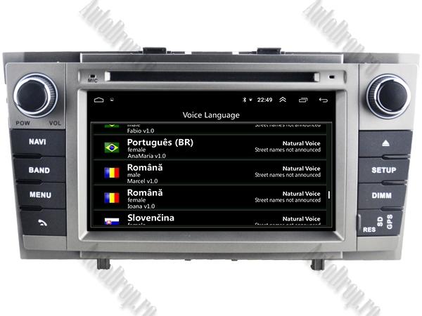 Navigatie Toyota Avensis 2008-2013 PX5 Gri | AutoDrop.ro [6]