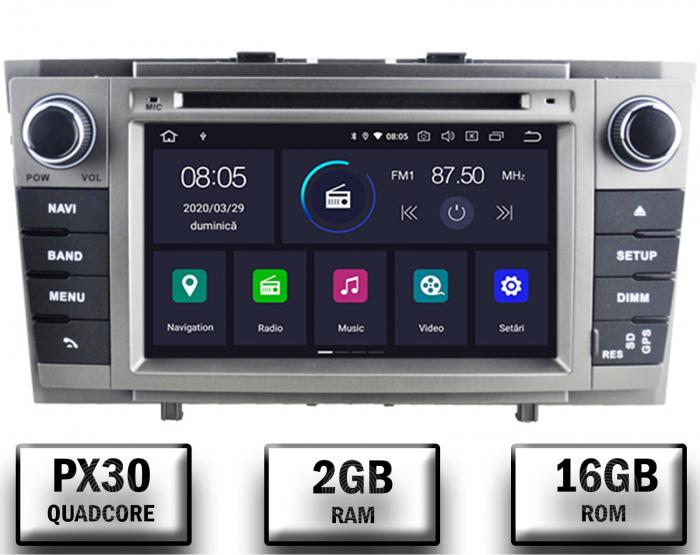 Navigatie Toyota Avensis 2008-2013 PX30 Gri   AutoDrop.ro 0
