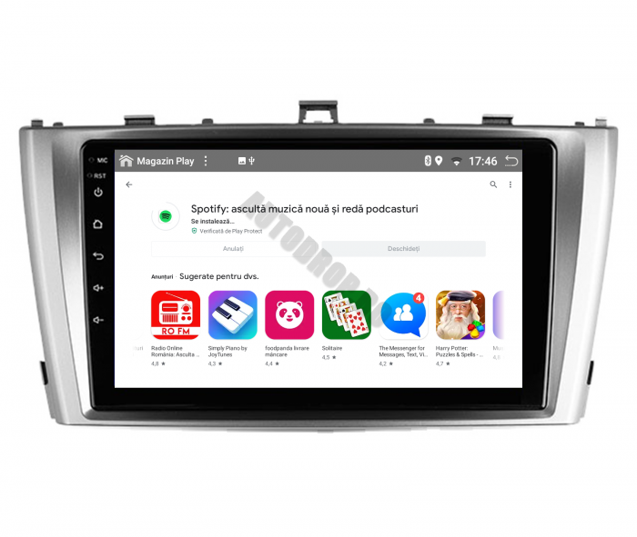 Navigatie Android 10 Toyota Avensis PX6 | AutoDrop.ro [6]