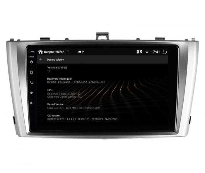 Navigatie Android 10 Toyota Avensis PX6 | AutoDrop.ro [14]