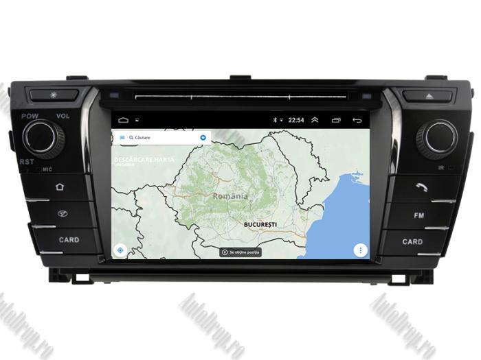 Navigatie Dedicata Toyota Corolla 2014 PX30 | AutoDrop.ro 13