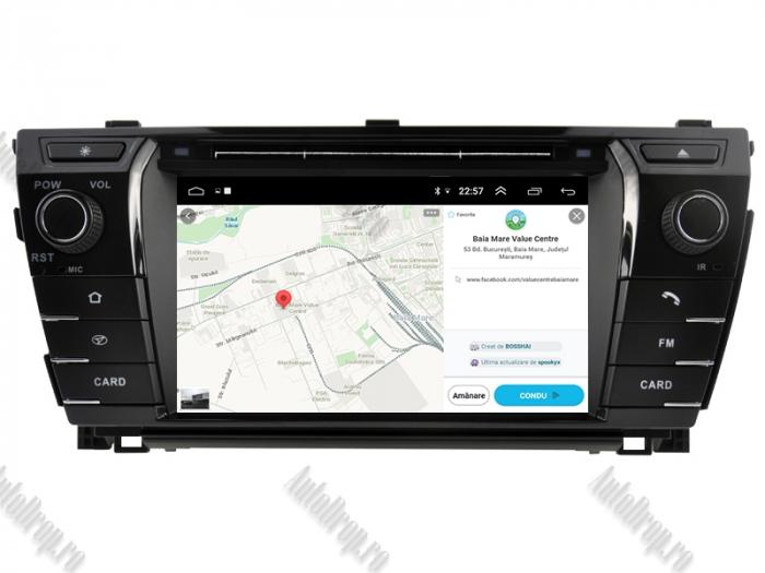 Navigatie Dedicata Toyota Corolla 2014 PX5 | AutoDrop.ro 14